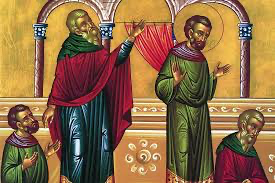February 2, 2020 – Sunday of the Publican and the Pharisee